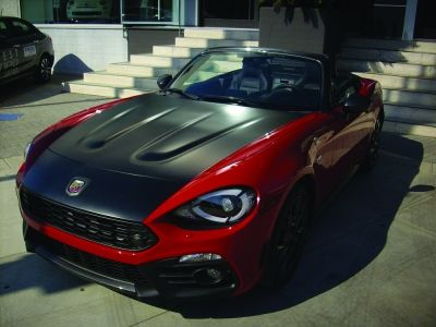 Car,- la nuova Abarth 124 Spider